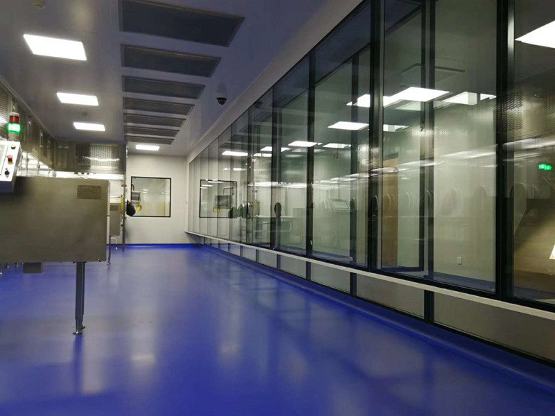 Tempered Glass Cleanroom Windows