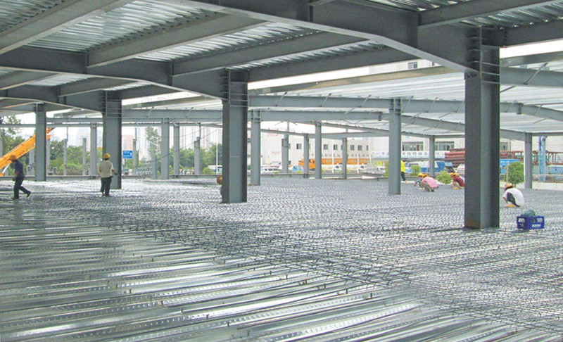 Closed Type Decking Floor Series