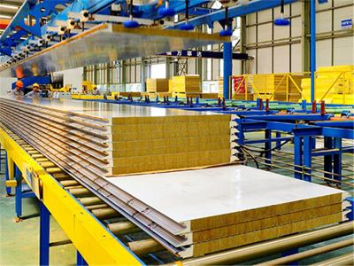 rockwool + panel sandwich pu