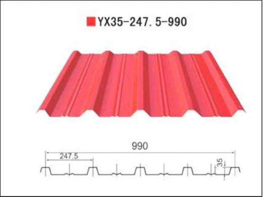 Prefabricated Steel Roof Sheets